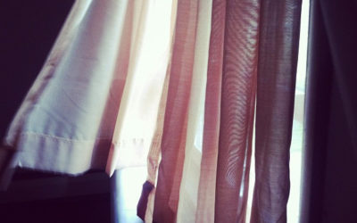 A Meditation on Curtains and the Spiritual Life
